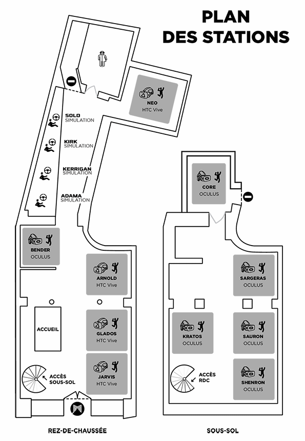 Plan stations