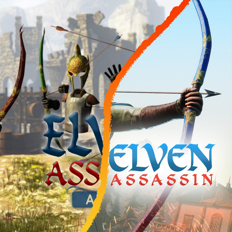 """Featured image for """"Elven Assassin"""""""